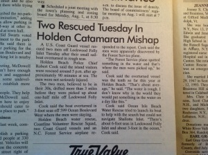The Brunswick Beacon article.