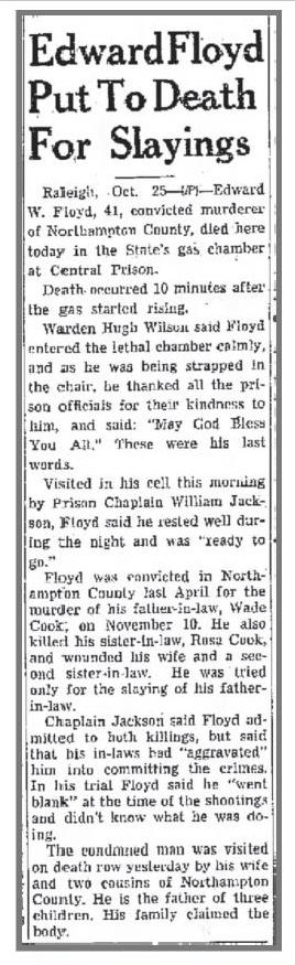 Lump Floyd Article